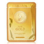 24k Gold Water Dual Snail Mask Pack